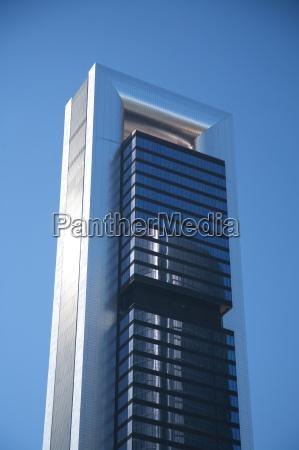 metal and crystal skyscraper