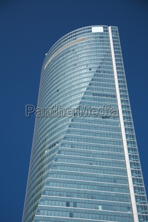top of skyscraper in madrid