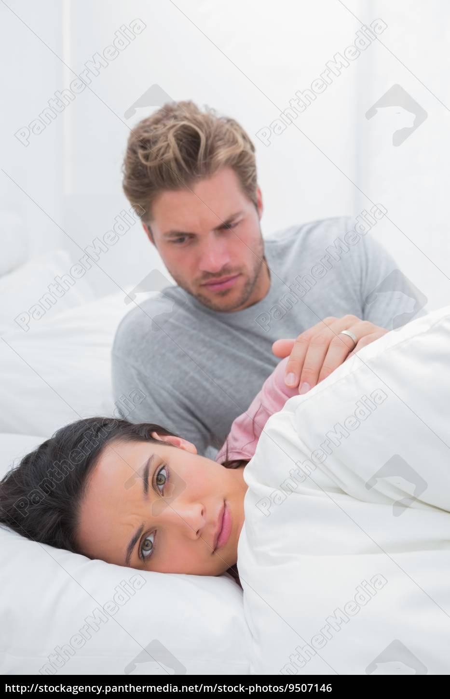 woman, ignoring, her, partner, in, her - 9507146