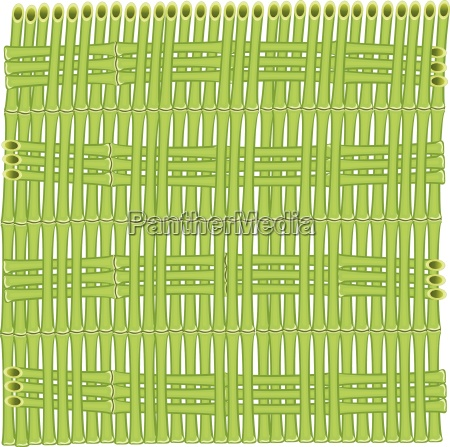 vector background of bamboo stalks