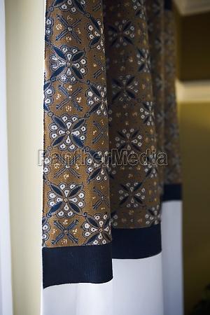 detalle del modelo de cortinas