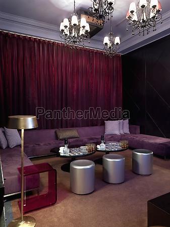 sala de estar en el interior
