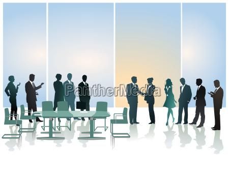 business reception