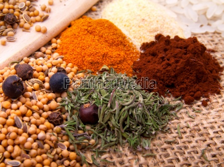 macro shot of spicesr