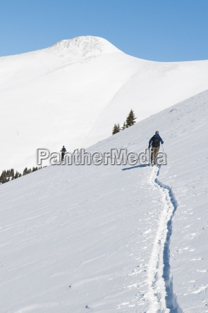 back country ski touring in colorado