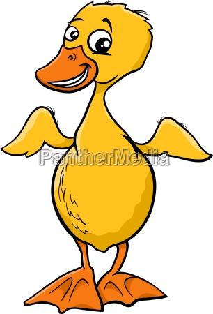 duckling cartoon illustration