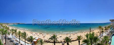 beautiful seaside beach