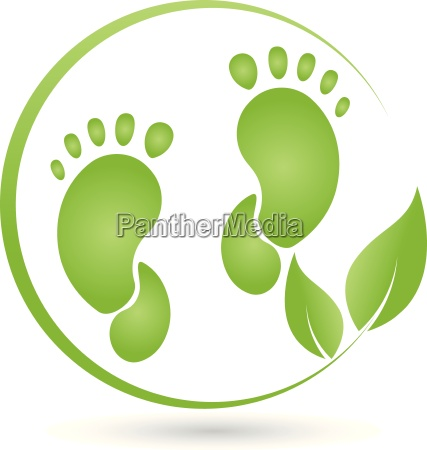two feet and leaveslogofoot care