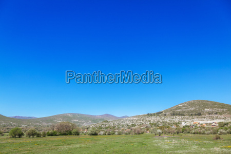 bosnia and herzegovina bileca landscape blue