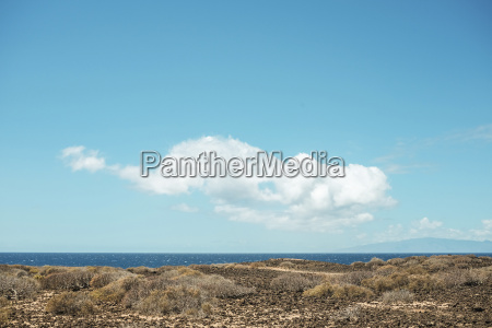 spain tenerife beach and cloud formation