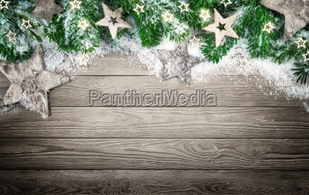 background for christmas and adventwith woodsnow