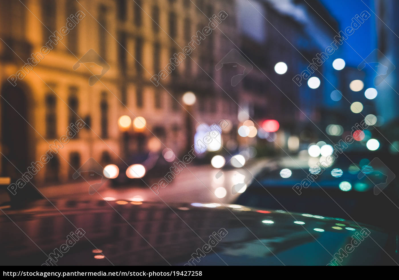 busy, road, at, night, , milan, , italy - 19427258