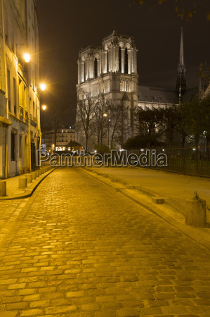 view of notre dame cathedral and