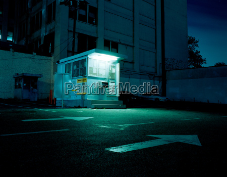 booth in parking lot brooklyn new