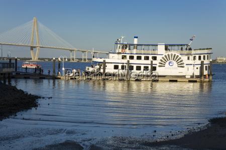 tour boat and arthur ravenel jr