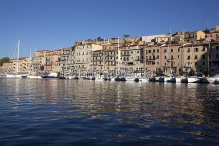 portoferraio elba italy mediterranean europe