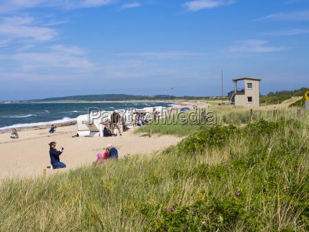 germany schleswig holstein wangels beach weissenhaeuser