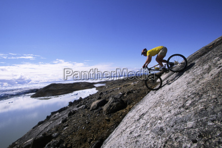 mountain biking in greenland