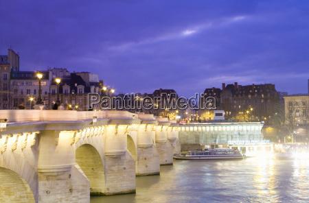 france paris pont neuf bridge