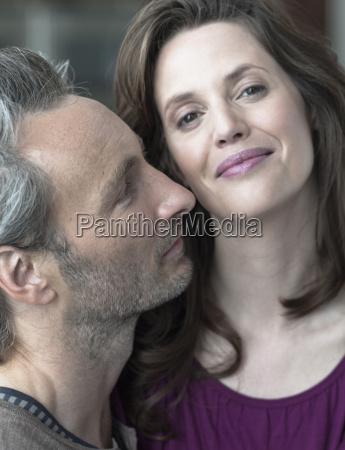 germany hamburg couple in love portrait