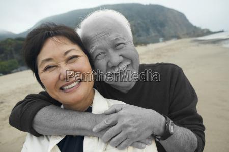 portrait of happy senior man with