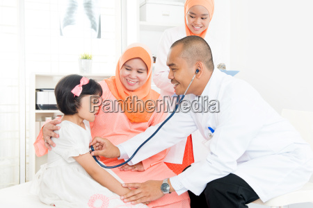 family doctor and patient