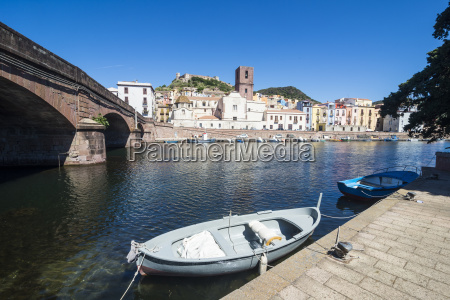 the town of bosa on the