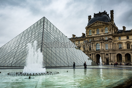 the large pyramid sits in the