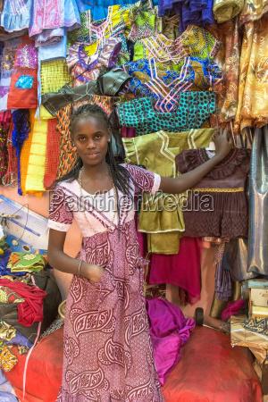 market in saint louis senegal west
