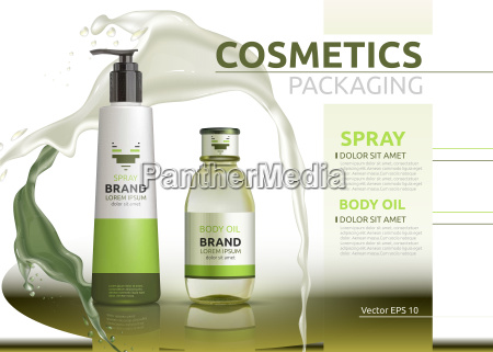 body oil and spray natural products