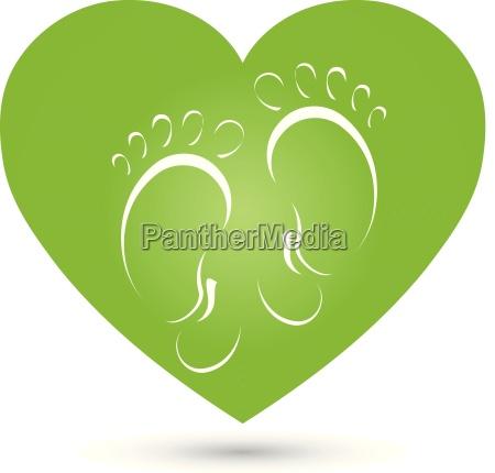 heartfeetmassagefoot carelogo