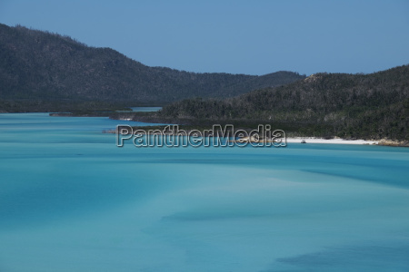 turquoise waters of the coral sea