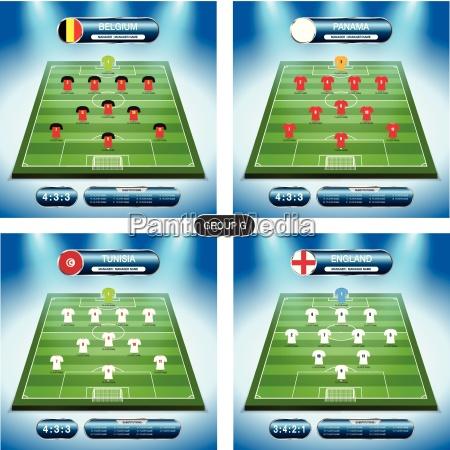 soccer team player plan group g