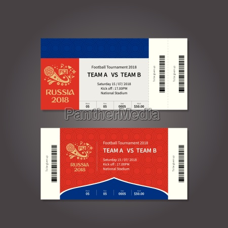 russia 2018 football or soccer ticket