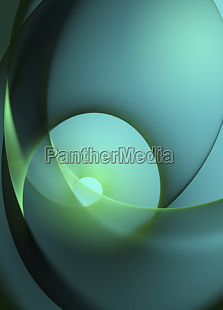 bright green spiral abstract backgrounds pattern