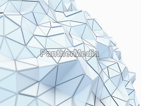 curving, textured, low, poly, surface, of - 26006262