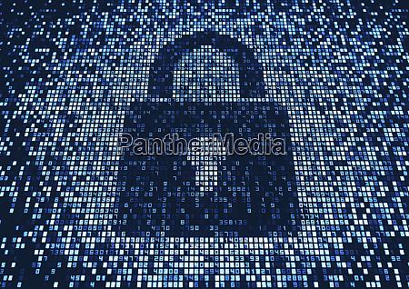 padlock, on, lots, of, numbers, on - 26006258