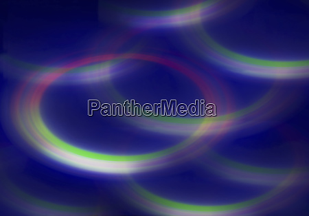 blurred fluorescent abstract background circle pattern