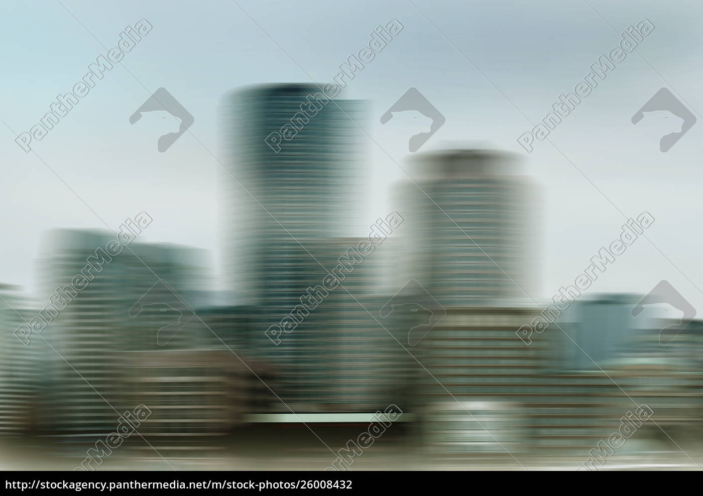 abstract, blurred, motion, cityscape - 26008432