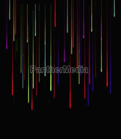 abstract, pattern, of, falling, multicolored, drops - 26008426