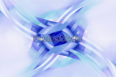 abstract pattern of rotating crisscrossing stripes