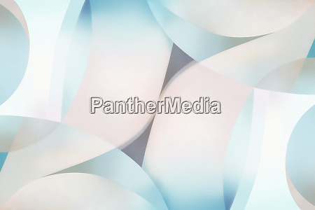 abstract pattern of pastel color shapes