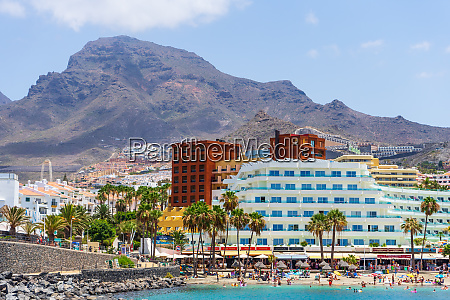 costa adeje tenerife canary islands spain